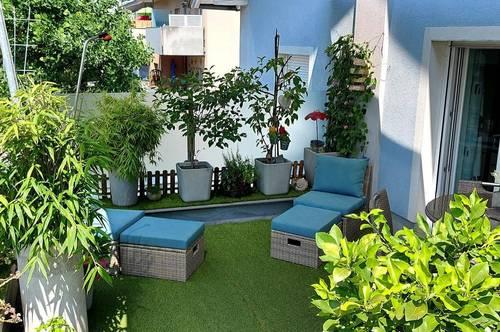 Charmante sonnige 4 Zimmer Terrassenwohnung mit 30 m² + Wintergarten!!! Zentraler Stadtlage Herrnau/Nonntal