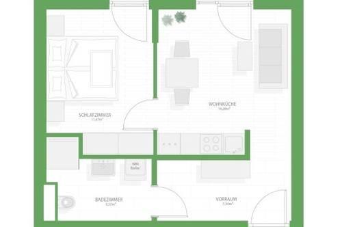 Neubau | provisionsfrei | ab Jänner 2021 | unbefristet | Nähe Leiner