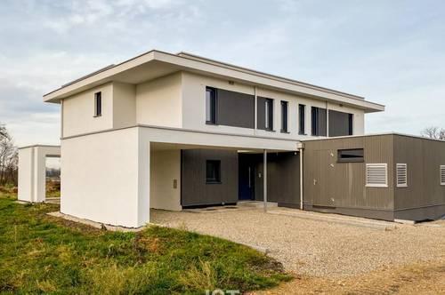 Kirchheim/I. – Stilvolle Doppelhaushälfte im Grünen