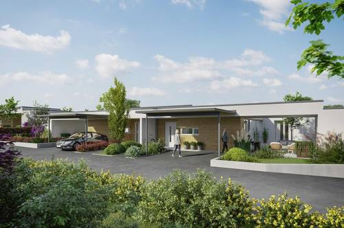 Doppelhaus/Bungalow - ökologische Bauweise - Erstbezug 2021 - barrierefrei - Haus 6
