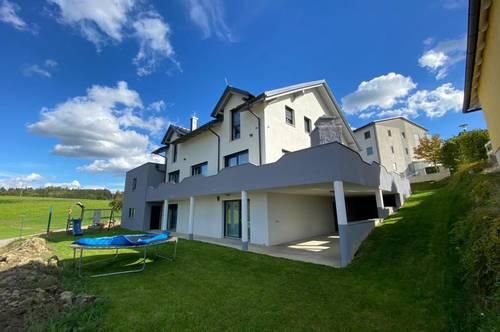 Einzigartiges Mehrfamilienhaus (3 Wohneinheiten) mit Blick ins Grüne in Gallspach