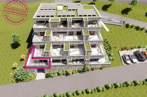 Terrassenwohnung mit Büro TOP 1 / EG - provisionsfrei