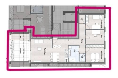 RESERVIERT - Terrassenwohnung für eine Familie - TOP 14 / 3.OG - provisionsfrei