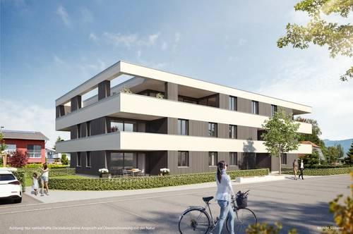 Moderne neue 3-Zimmer-Dachgeschoss-Wohnung in Hard