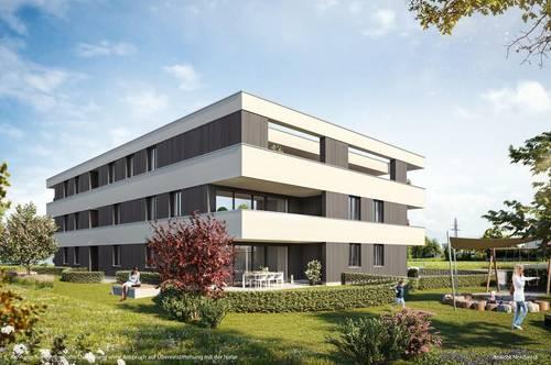 Neue 3-Zimmer-Dachgeschoss-Wohnung mit traumhafter Aussicht in Hard