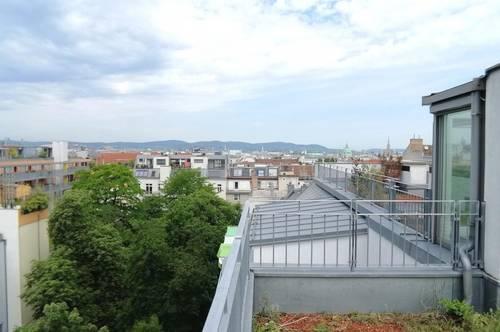 Sehr gut aufgeteilte Dachterrassenwohnung in 1040 Wien