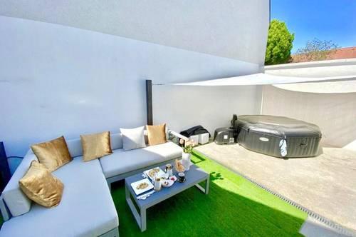 EIGENHEIM - EXQUISITEReihenhaus-STYLE3-Zimmer-Wohnung mit herrliche Terrasse in Bestlage & Grünruhelage - Nähe Neusiedler See-RUST & Eisenstadt!