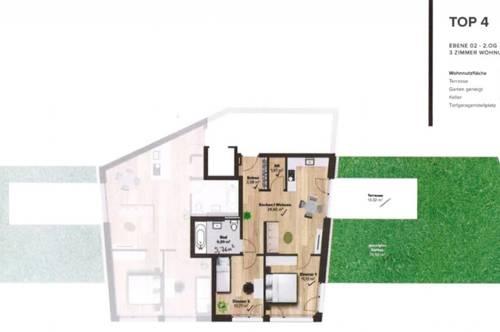 ERSTBEZUG! Wunderschöne 3-Zimmer-Wohnung in Igls (Top 4)