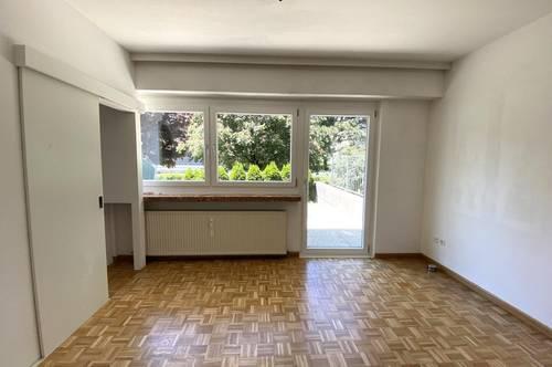 Schöne 1,5-Zimmer-Wohnung mit Terrasse am Mitterweg