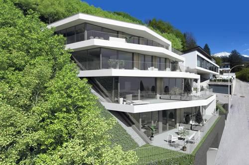 NEUBAU in MÜHLAU: Exklusive 4-ZI.-Terrassenwohnung