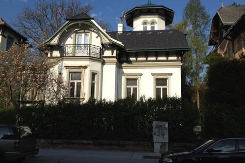 Wunderschöne Villa aus der Jahrhundertwende im wunderschönen Hietzing