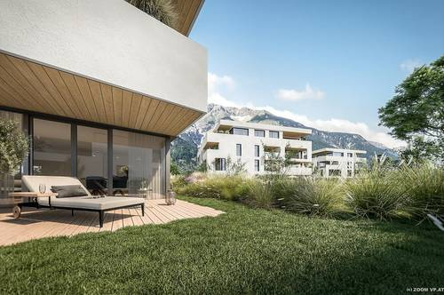 Seesiedlung Völs - Neubau 3-Zimmer-Gartenwohnung