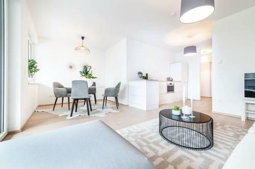 ANLEGERHIT - Helle, moderne 2-Zimmer-Wohnung in herrlicher Grünlage von Bisamberg - Top 5 (Erstbezug)