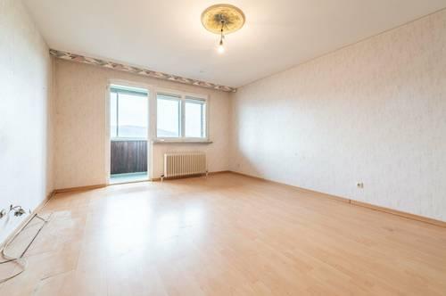 Sanierungsbedürftige 3-Zimmer-Wohnung mit traumhaften Fernblick in zentraler Lage von Baden