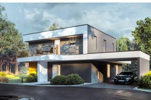 Erstbezug, Ziegelmassive Architektenvilla