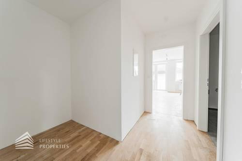 Erstbezug! Freundliche 2-Zimmer Wohnung mit Balkon in Bahnhofsnähe