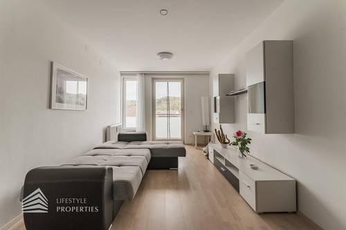 Fantastische 2-Zimmer Wohnung mit großem Balkon in Bahnhofsnähe
