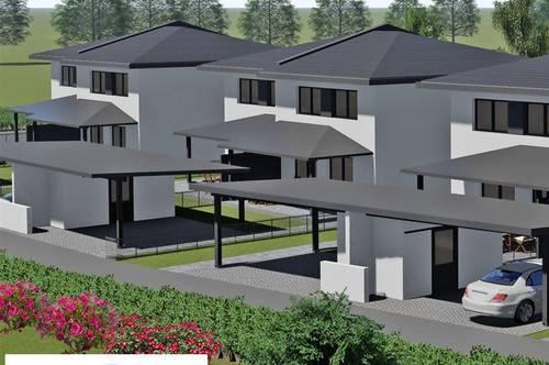 Piccoli Fiori Einfamilienhaus vom Baumeister mit Doppelcarport und Nebengebäude  schlüsselfertig