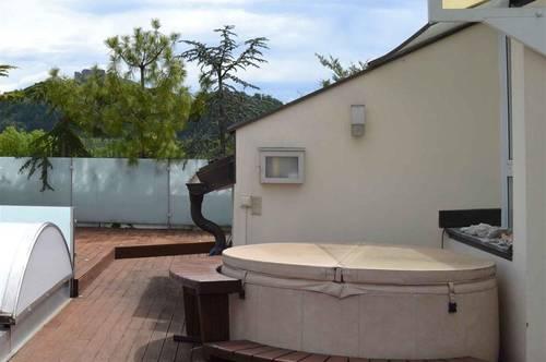 Einzigartige Maisonettenwohnung mit Dachterrasse