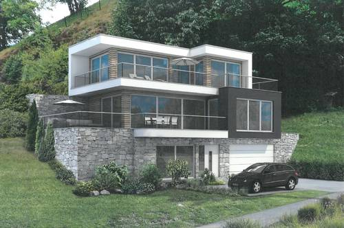 Grundstück mit Baugenehmigung für eine Architektenvilla im Winterparadies Saalbach