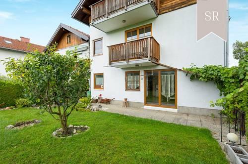 """4-Zimmer Gartenwohnung in idyllischer Lage """"XXL-Abstellraum im Dachgeschoß inklusive!"""""""