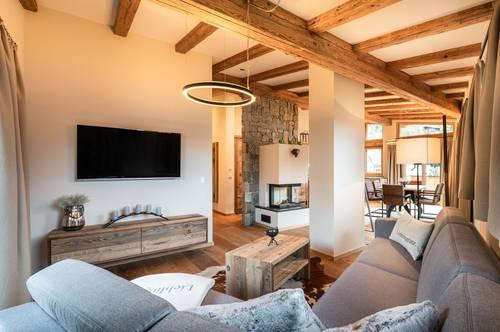 Neue, hochwertige Penthouse Wohnung im Zentrum von Jochberg Ski-In Ski-Out - Top 4