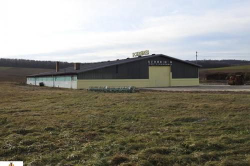 Betriebsanlage für Maschinenbau in Frättingsdorf bei Mistelbach! Autobahn ca. 10 km entfernt!