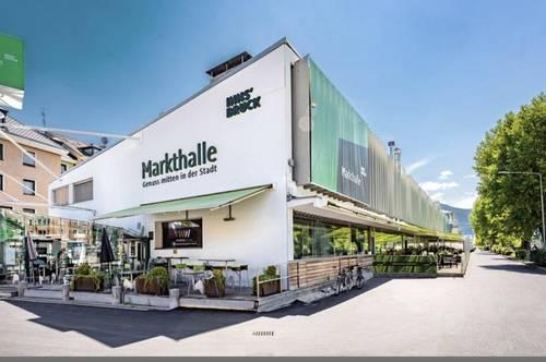 Geschäftslokal für Einzelhandel, Café oder Snacks in der Markthalle
