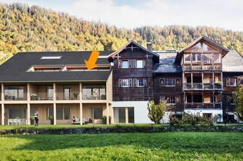 4 Zi Wohnung wohnen ganz oben - 2-geschossig mit Galerie