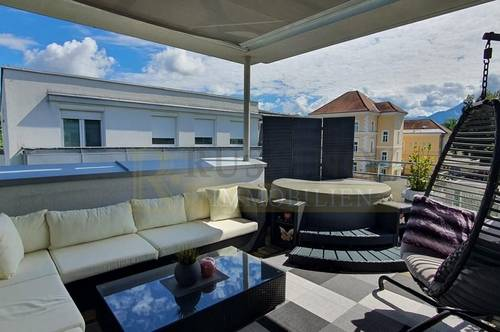Modernes Penthouse mit Jacuzzi in Viktring