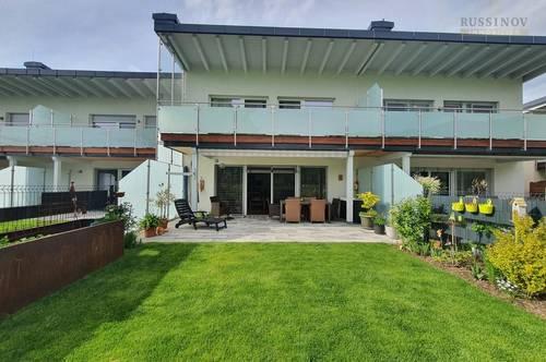 Neues Reihenhaus mit Terrasse, Garten und Südblick