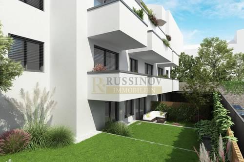 Neubau Erstbezugswohnung mit XL-Balkon in der Stadt