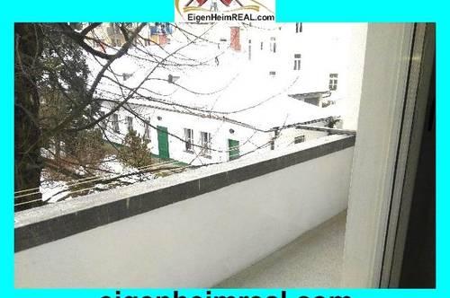 Innenstadt Wohnung mit Balkon - Hofruhelage