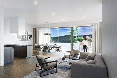Exklusive Penthouse-Wohnung mit Seeblick in zentrumsnaher Lage