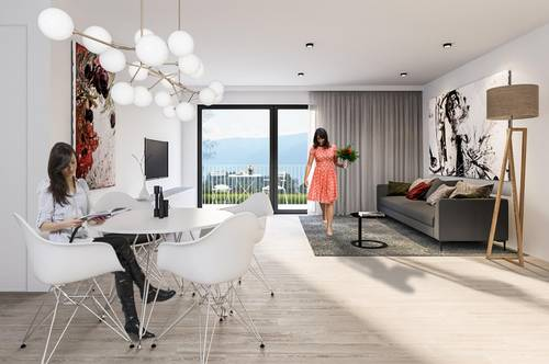 Luxuriöse Penthouse-Wohnung mit atemberaubenden Bergpanoramablick