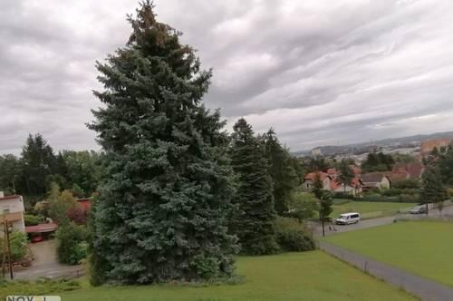 Baugrundstück - direkter Blick auf Schloßberg