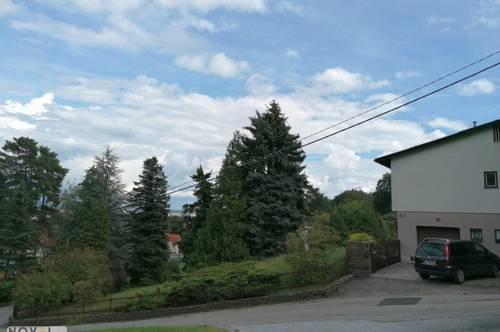Baugrundstück mit Altbestand - direkter Blick auf Schloßberg