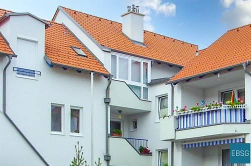 Familienwohnung im EG mit Loggia