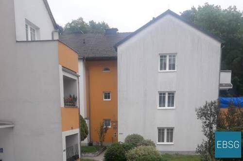 Pärchen- oder Singlewohnung im EG mit Loggia