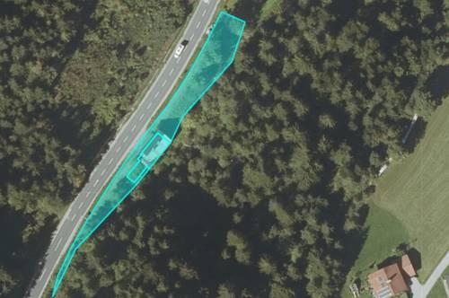 Grundstück mit Altbestand in Annaberg-Lungötz