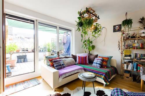 3-Zimmer Maisonette-Wohnung mit gemütlicher Terrasse und Tiefgaragenplatz zu vermieten