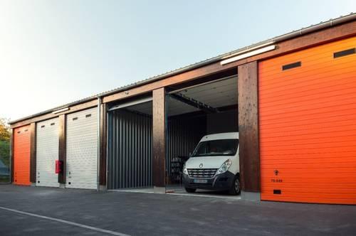 Moderne 28-112m² Garagen & Lagerräume zu vermieten | Jederzeit kündbar