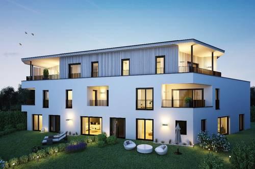 Teichresidenzen - Velden am Wörthersee! Maisonett-Wohnung mit Loungebereich im Dachgeschoss