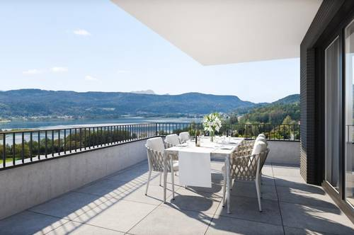 SEENSwert - Keutschach am See! Luxus-Penthouse mit Seeblick