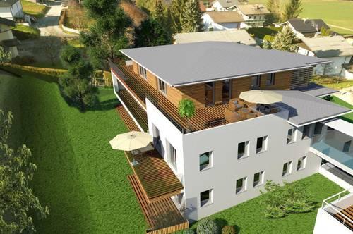 Einzigartige 3ZI Dachgeschosswohnung mit Traumblick über Thalgau