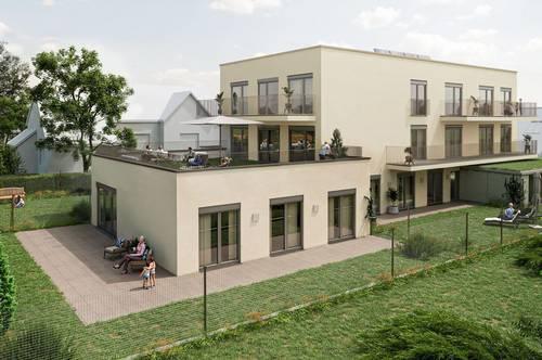 3-ZimmerNeubauprojekt -Top 1! Wohn(t)raum mit Terrasse & Eigengarten! Wohnjuwel Gutenbergstraße 7!