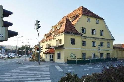 2 Zimmer! Provisionsfrei f. Mieter! Wohnung im geschichtsträgigen Andritzer Mauthaus verfügbar!