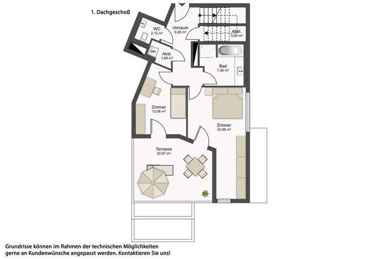 1160 Gallitzinstraße 100_7_1OG Plan