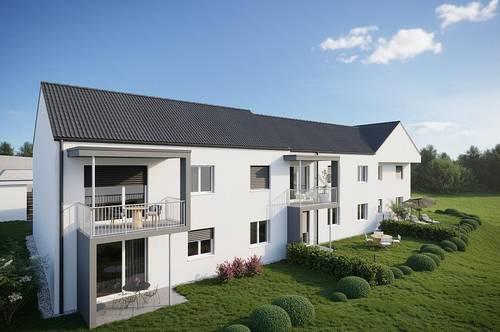 Stilvolle, provisionsfreie 2-Zimmer-Neubauwohnung mit Terrasse und Garten in Grafendorf b. Hartberg