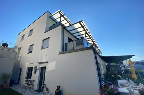 Wunderschöne Neubau-Mietwohnung in Jagerberg - mit Balkon und Eigengarten